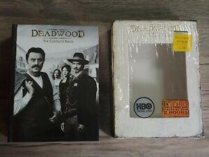 Deadwood - The Complete Series  All Seasons 1 2 3 DVD  Box Set