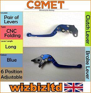 Suzuki Gsx-R 750 ( Srad ) 1996-2003 [Pliable Bleu Long ] [ Comet Course Levier]