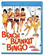 Beach Blanket Bingo (1965) Frankie Avalon Annette Funicello Blu-Ray BRAND NEW
