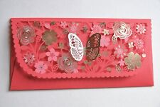 10 Pcs - Chinese Wedding Butterfly Red Envelope