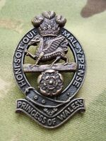 British Army PWRR Princess Of Wale's Royal Regiment Cap/Beret Badge Genuine New!