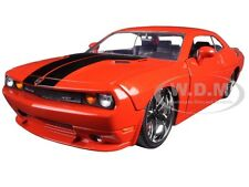 2008 DODGE CHALLENGER SRT8 ORANGE 1/24 DIECAST CAR MODEL BY JADA 96894