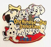 Disney 101 DALMATIANS #62 Of 101 Disney Silver Clasp Movies Pin