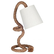 Retro/Cool Rope Table Lamp With Natural Shade H: 55CM High-End & Unique