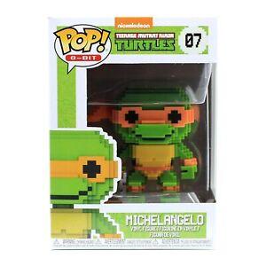 Pop! 8-Bit Series Nickelodeon Teenage Mutant Ninja Turtles Michelangelo 07 Funko