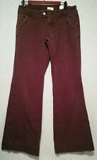 Womens Brown Maurices Jeans Sz9/10 (33x32)*Great Shape*List#40A