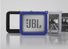 Silicone Carry Cover Case Protector Metal Buckle For JBL GO 2 Bluetooth Speaker