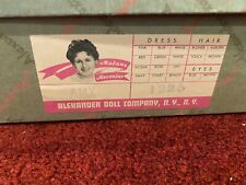 New ListingVintage 1960's Madame Alexander #1225 Meg Doll Little Women Series