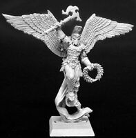 1 x URIEL GUARDIAN ANGEL CRUSADER - WARLORD REAPER miniature jdr rpg ange 14080