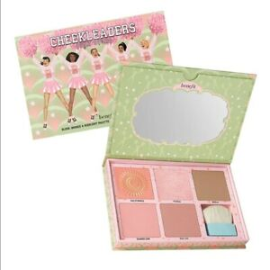 Benefit Cheerleaders Pink Squad Blush Bronze Highlight Palette New Authentic Box