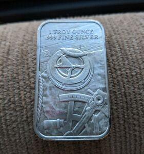 Elemental Mint The Prospector 1oz SilverBullion Bar