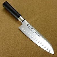 Japanese Masamune Kitchen Dimple Santoku Knife 170mm 6.7 inch Round handle JAPAN