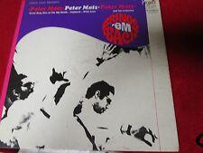 PETER MATZ BRINGS 'EM BACK jazz vinyl LP Record Album 1966 PR5007SD