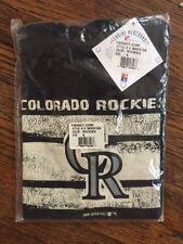 NWT Colorado Rockies Boys T Shirt S 6/7