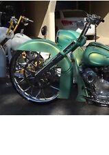 Road King stretch Raked Nacelle& Cap Harley Davidson FLHP bag of cat