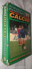 ALMANACCO ILLUSTRATO DEL CALCIO 1989 A cura di Arrigo Beltrami Panini Calciatori