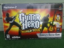 Playstation 2 PS2 Guitar Hero World Tour..Dongle, Game and Wireless Controller