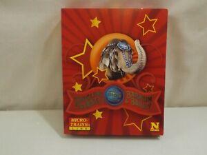 "N gauge Micro-Trains Ringling Bros "" Greatest Show"" circus set in original box"