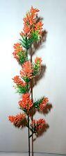 Blütenzweig orange  Kunstblumen -Seidenblumen