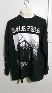 1Burzum aske long sleeve T shirt black metal mayhem emperor darkthrone