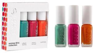 Essie Summer Collection 2014 Nail Polish Set 3 X 5ml