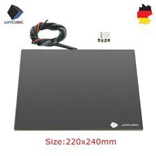 ANYCUBIC Ultrabase Heizbett 220x240mm mit beschichteter Glasplatte 3D Drucker