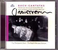 John Eliot GARDINER Signiert BACH Wachet auf ruft uns die Stimme BWV 140 147 CD