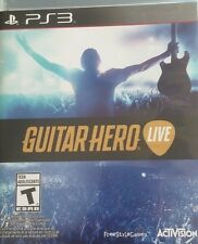 Guitar Hero LIVE Game PlayStation3 PS3 PLUS USB MICROPHONE