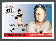 MICKEY MANTLE HOME RUN HISTORY 2007 TOPPS ~Home Run #491~ CARD!!