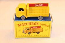 Matchbox A Moko Lesney No 37 Coca Cola Lorry GPW 99.9% mint in box SUPERB