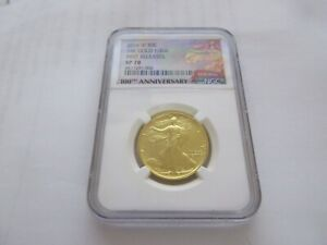 2016-W US Gold Walking Liberty Half (1/2 oz) 50c - NGC  SP70 First Releases