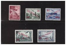 GERMAN 1941 OCCUPATION OF SERBIA  MI.26-30 MNH AIRMAIL COMPLETE SET PG35