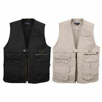 5.11 Tactical Men's Cotton Vest Zipper, CCW Security Pockets, Style 80001, S-3XL