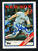 Rich Gedman #245 signed autograph auto 1988 Topps Baseball Trading Card