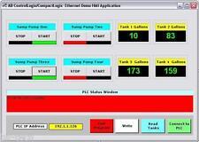 Allen Bradley ControlLogix CompactLogix HMI ActiveX PLC Driver for Visual Basic