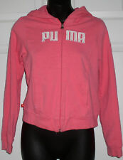 PUMA Girls Pink Hoodie Sweatshirt XL