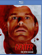 NEW DEXTER THE FIFTH SEASON BLU RAY DVD SEALED FREE SHIPPING