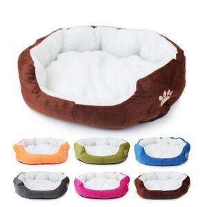 Pet Dog Cat Bed Soft Warm Cushion Waterproof Sleeping Pillow Mattress Puppy Mat