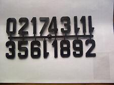 I numeri in plastica Alveare