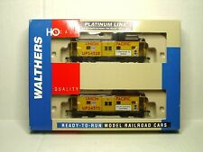 WALTHERS PLATINUM LINE HO SCALE 2 PK BAY WINDOW CABOOSE UNION PACIFIC 932-27624