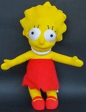 "Simpsons Lisa Simpson Plush 20"" Doll Toy Stuffed Animal Matt Groening Large"