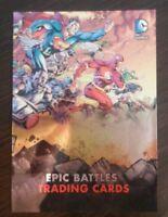DC Epic Battles Binder Exclusive Promo Card BP1 BP-1 Cryptozoic