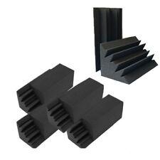 paquete de 8,6 x 4,6 x 9,5 pulgadas Espuma de pared acustica negra de la tram G6