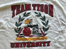 Mike Tyson Team Tyson University T-Shirt XX-Large Vintage 1990s Rare