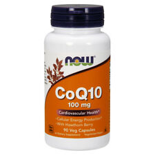 NOW Foods CoQ10 - 100mg - 90 Vegetarian Capsules