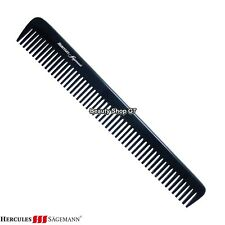 "Professional hard rubber barber comb Hercules Sägemann AC6 Beard Cutting Comb 7"""
