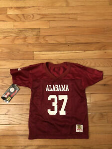 Alabama Crimson Tide NCAA Vintage Wilson Toddler Football Jersey NWT Size 4T