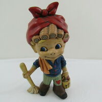 Atlantic Mold Helga The Cleaning Lady Figurine Vintage Collectible Expert Paint