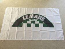 24 hour Le Mans Classic Ferrari Porsche Ford Aston Martin workshop flag banner