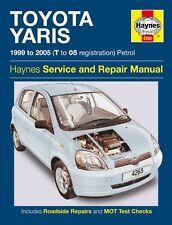 HAYNES SERVICE & REPAIR MANUAL TOYOTA YARIS 1999 - 2005 (T - 05 Reg) Petrol 4265